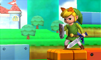 Toon Link is no amused