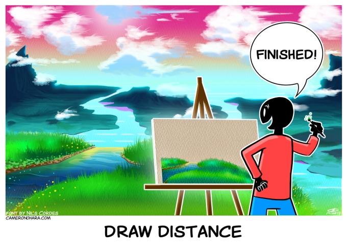 draw distance