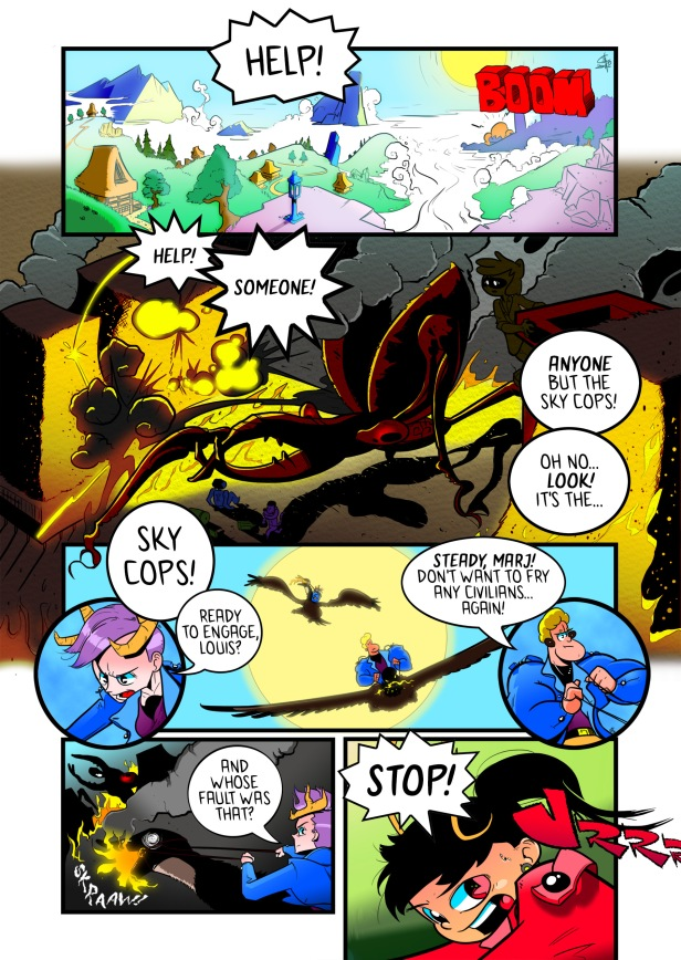 Sky Pigs Ascension Day page 1