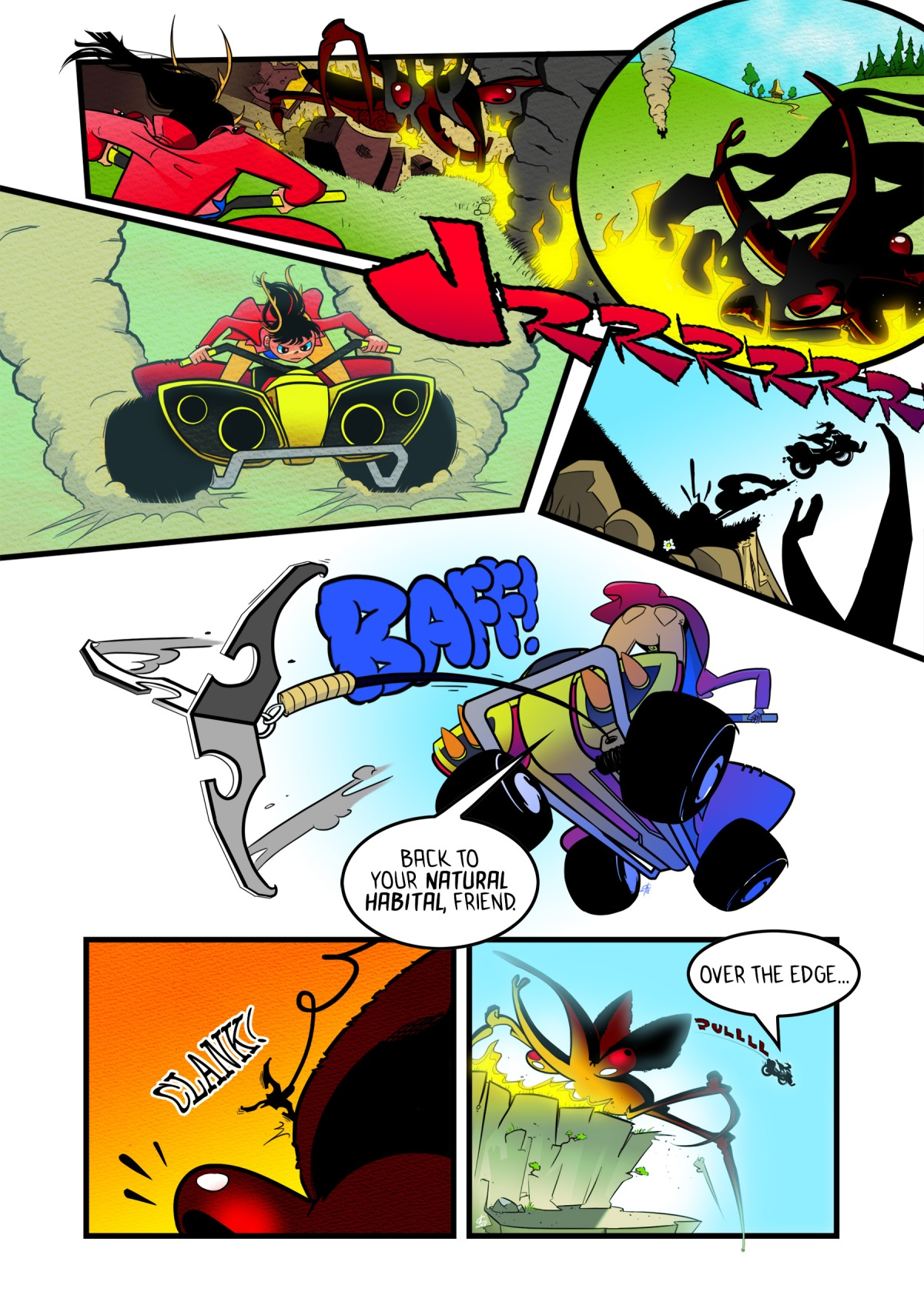 Sky Pigs Ascension Day page 3
