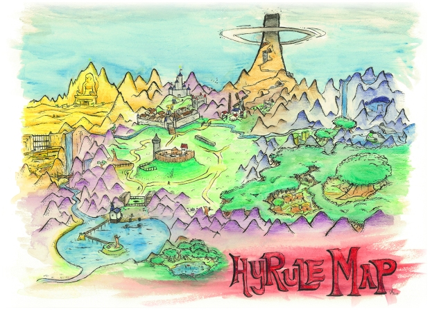 Hyrule Map 1 HD